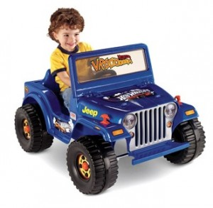 Fisher-Price Power Wheels Hot Wheels Jeep 6-Volt Battery