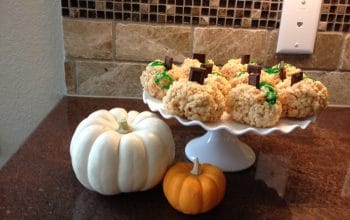 Recipe: Halloween Marshmallow Treats