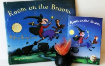 Room on the Broom DVD Review + FREE Coloring Page and Activity!