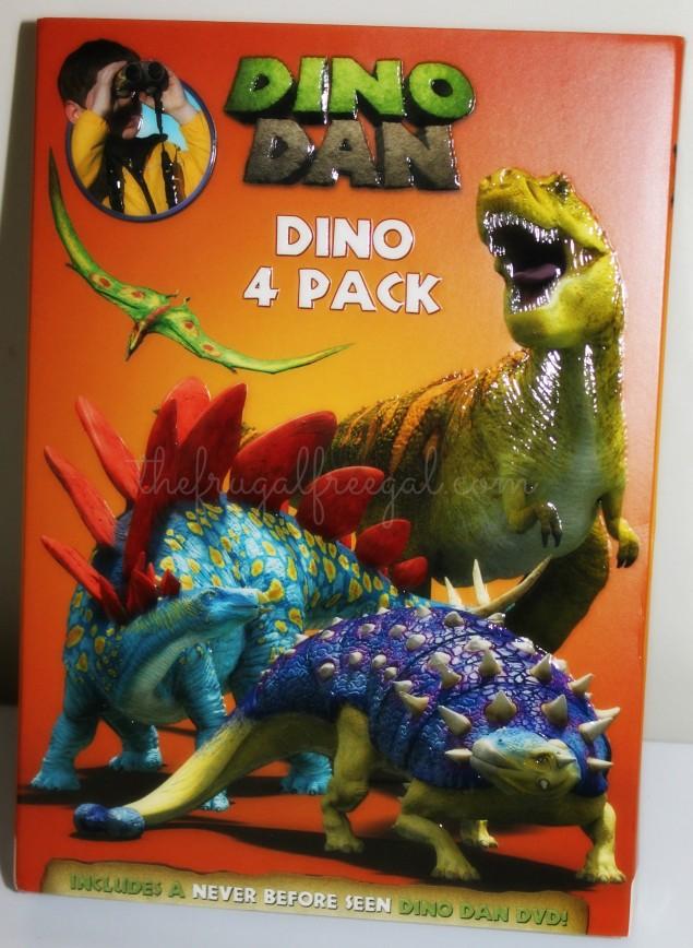Dino Dan DVD Set 4 Pack Review
