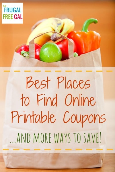online printable coupons