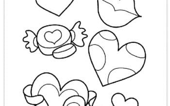 Free Valentine's Day Printable Coloring Pages from Crayola