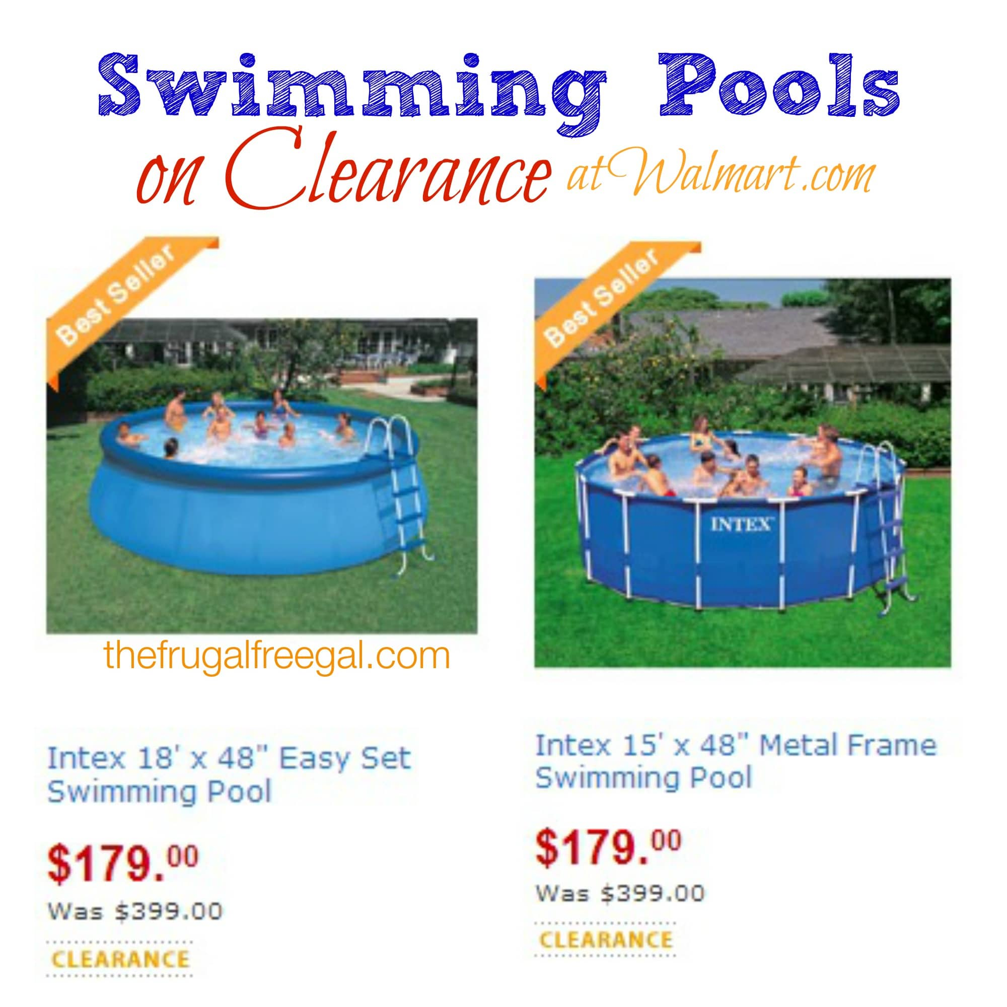 Walmart: Swimming Pools on Clearance for $179 (Reg. $399 ...