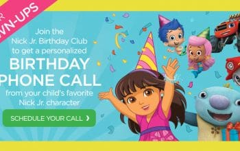 FREE Birthday Printables + Personalized Birthday Phone Call from Nick Jr. Characters!