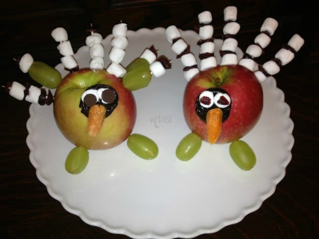 Apple Turkey Craft | Freebies and Free Samples | The Frugal Free Gal