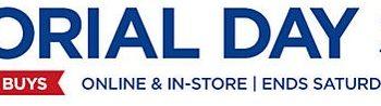 Sears Memorial Day Sale: Huge Savings + 5% Cash Back! (Ends 5/23)