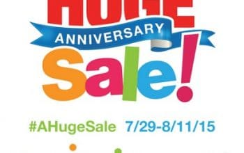 Huge Randalls Anniversary Sale from 7/29-8/11!