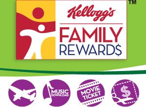 100 FREE Points for Kellogg's Family Rewards!