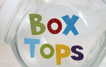Create a Box Tops Bank for the New Back-to-School Season