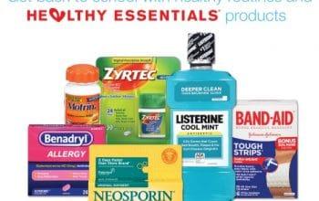 Earn 2,000 Walgreens Balance Rewards Points (w/ J&J Healthy Essentials Purchase)