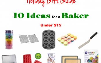 Top 10 Gift Ideas for a Baker for Under $15