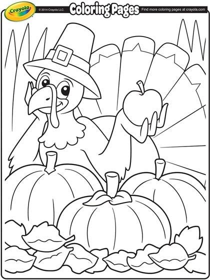 FREE Printable Thanksgiving Coloring Pages - The Frugal Free Gal