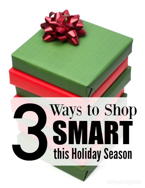 ways to shop smart the holiday season