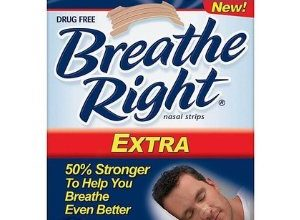 FREE Breathe Right Extra Clear Strips Sample