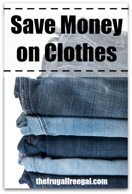 saving money on clothes