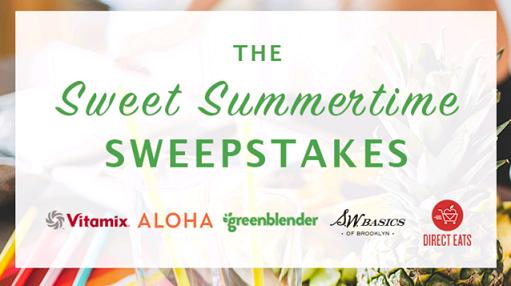 Ends Tonight* The Sweet Summertime Sweepstakes   The Frugal Free Gal