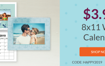 Custom Photo Wall Calendar Only $7.98 Shipped! (Ends 2/1/19)