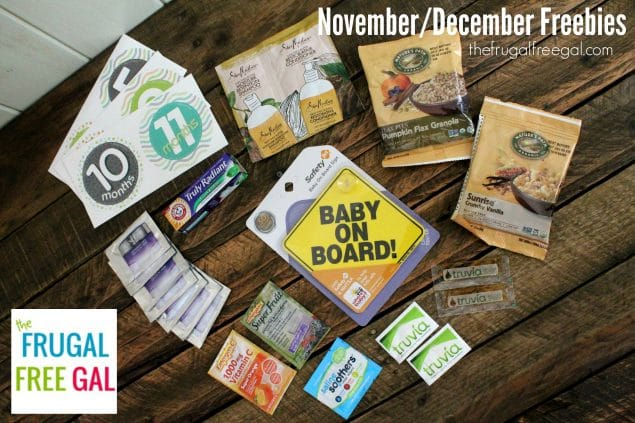 November December Freebies