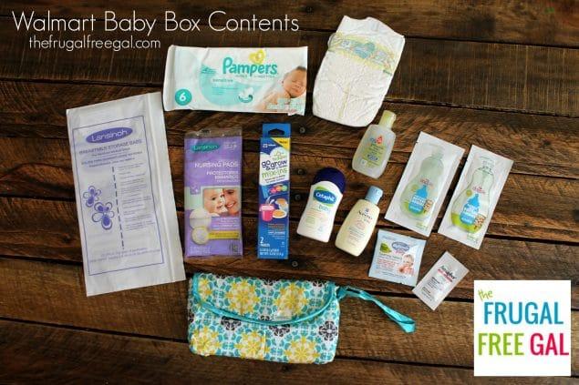 Walmart Baby Box Contents