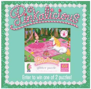 Pinkalicious Glitter Puzzle Giveaway (Ends 12/7) - Freebies