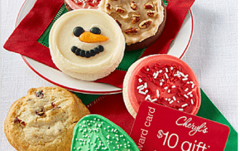 Cheryl's Cookies Holiday Cookie Sampler + $10 Reward Card Only $12.99 Shipped!
