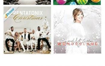 Stocking Stuffer Ideas: Christmas CD's at Amazon!