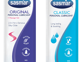 FREE Sasmar Personal Lubricant Sample