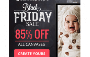 Canvas People: 85% off ALL Canvas Prints! (Great Gift Idea)