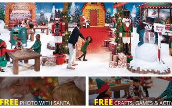 FREE 4×6 Photo with Santa + More at Bass Pro Shops!
