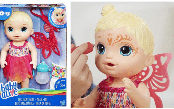 Baby Alive Face Paint Fairy – 42% Off + FREE Shipping