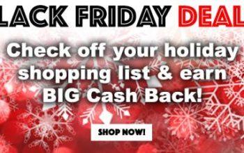 Get Big Cash Back During the Swagbucks Black Friday Sale!