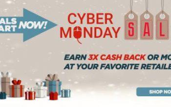 Huge Cash Back Deals During the Swagbucks Cyber Monday Sale!