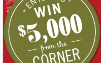 Corner Bakery Cafe $5,000 Sweepstakes (Ends 12/21)