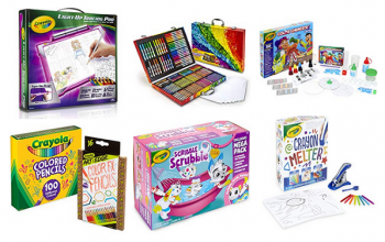 Amazon Deal of the Day: Crayola Sale (lots of holiday gift ideas)
