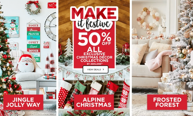 Michaels Christmas.Michaels Free Shipping On 49 Orders 50 Off Exclusive