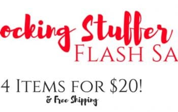 Stocking Stuffer FLASH Sale – 4 Items for $20 + FREE Shipping!