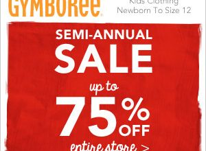 *Ends Soon!* Semi-Annual Sale at Gymborree- Save up to 75% off! (Ends 1/10)