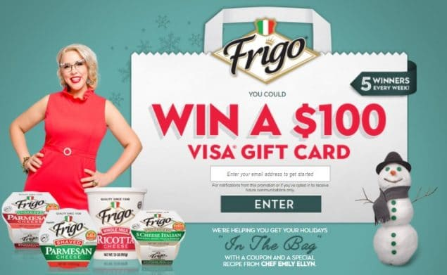 Ends Today! Frigo Cheese in the Bag Sweepstakes - Win Gift