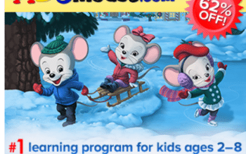 Ends Today! ABCmouse.com: Get 1 Year for Only $45! (Ends 12/31)