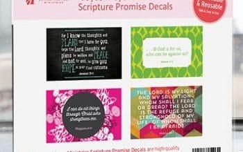 FREE Joyce Meyer Scripture Promise Decals (religious)