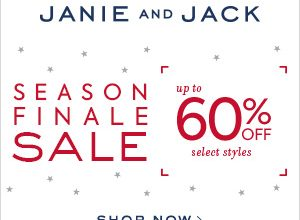 Season Finale Sale – Up to 60% Off at Janie and Jack (Ends 1/22)