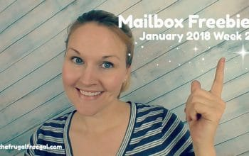 YouTube Video: Mailbox Freebies – January 2018: Week 2