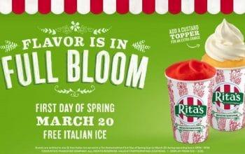 FREE Rita's Italian Ice Today!