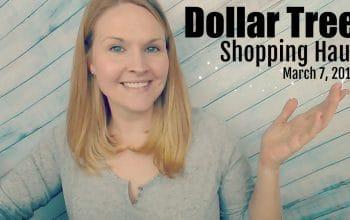 YouTube Video: Dollar Tree Haul 3/7