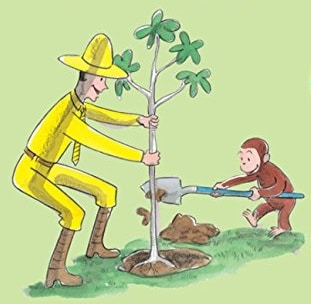 FREE Curious George Earth Day Printables and Activities