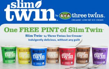 FREE Pint of Slim Twin Ice Cream (printable coupon)