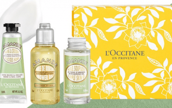 FREE L'Occitane Spring Beauty Gift Set (in-store freebie)