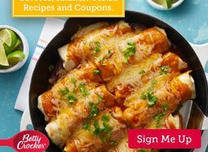 FREE Betty Crocker Samples, Coupons, Recipes, and More