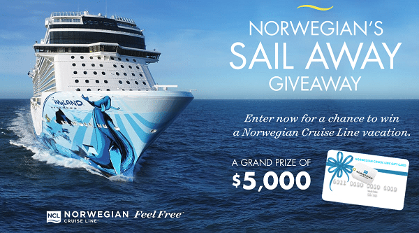 Enter To Win A 5 000 Norwegian Cruise Line Gift Card Ends 8 13