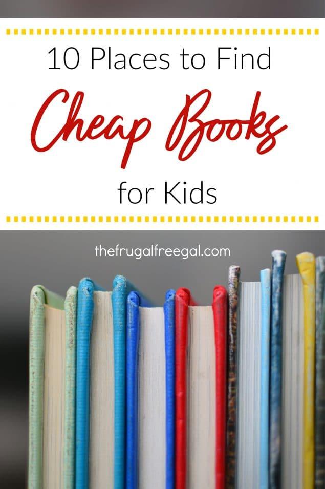 cheap books for kids